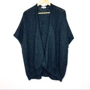 Aritzia Community Mohair and Alpaca Sweater Black